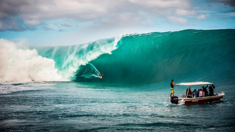 Top 5 des plus grosses vagues au monde